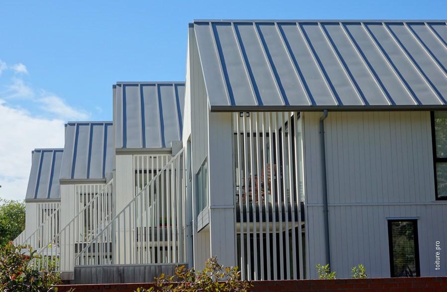 prix toiture en zinc m2